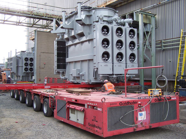 Refurbish, Relocate & Test (2) 120 MVA, FOA Generator Step-Up Transformers