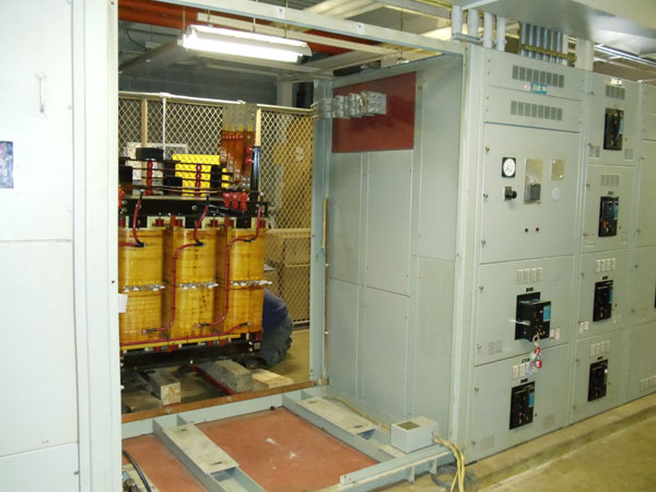 Replacement of Dry-Type Transformers